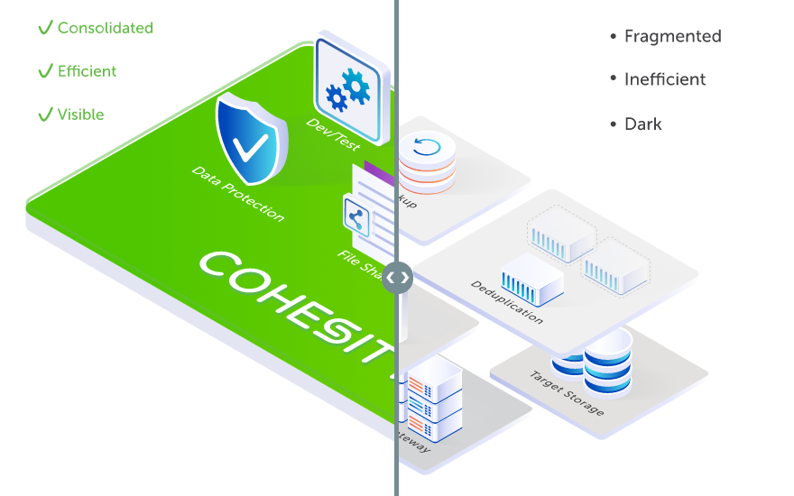 Cohesity: A new approach to an old problem